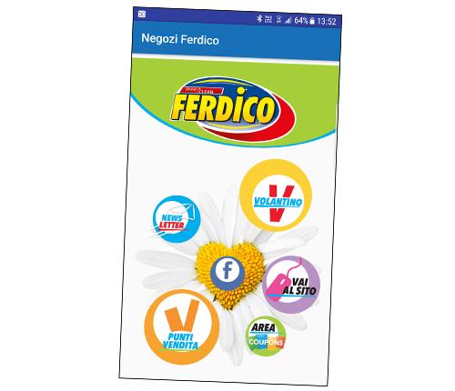 App Negozi Ferdico
